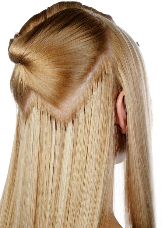 aplique de cabelo cacheado loiro com aplique