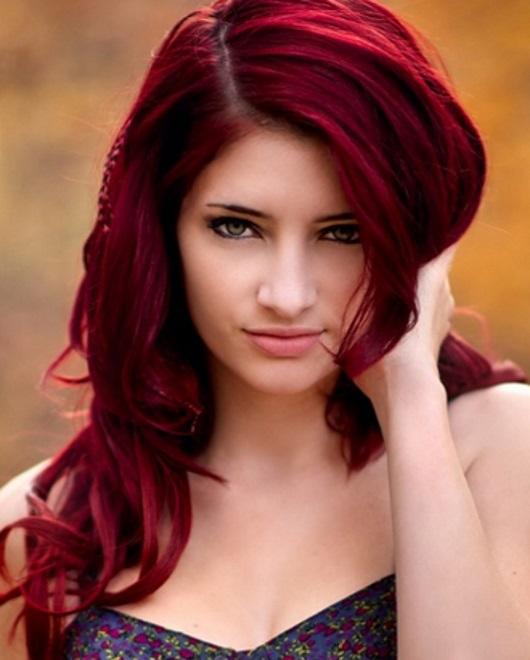 cabelo ruivo natural acobreado para morenas