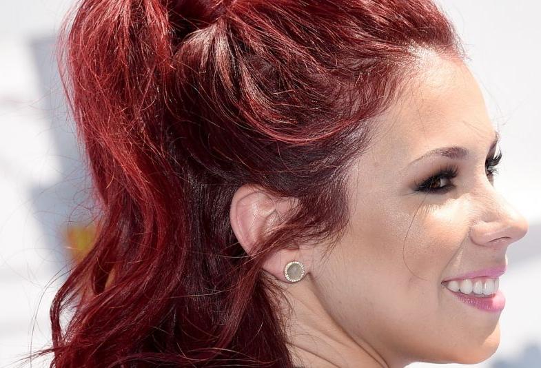cabelo vermelho marsala