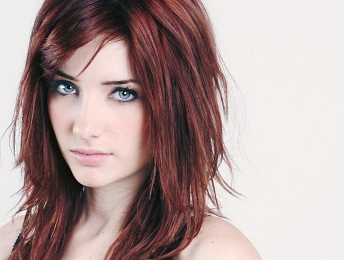 cabelo vermelho tinta vinho borgonha