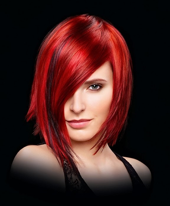 cabelos ruivos para morenas claras