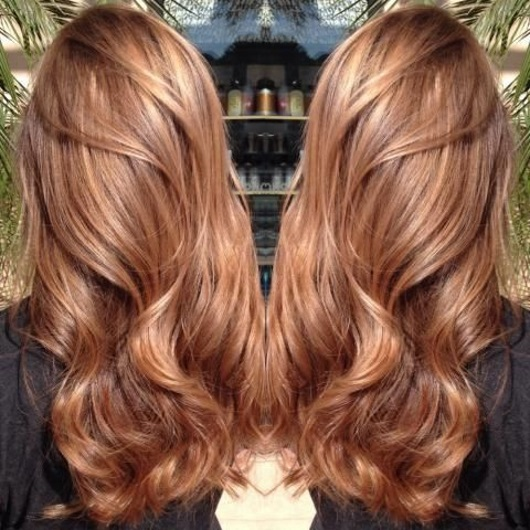 caramel twist hair