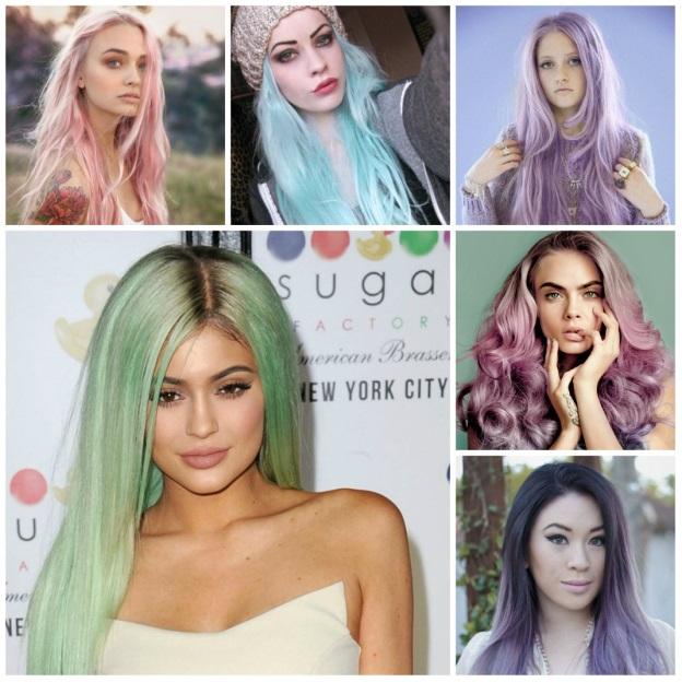 como pintar cabelo com anilina rosa