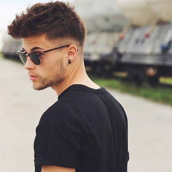 fotos de cortes de cabelo masculino