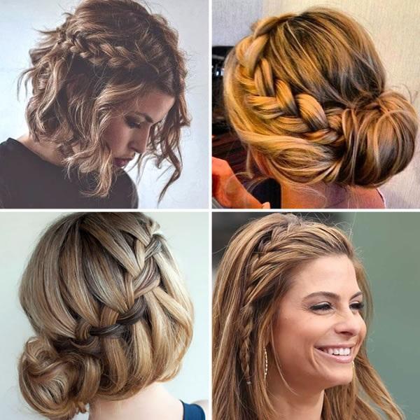 penteados com tranca para festas e formaturas de final de ano